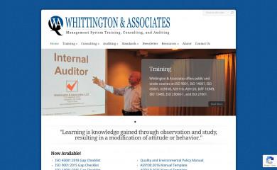 whittingtonassociates.com screenshot