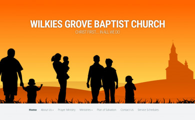 wilkiesgrove.org screenshot