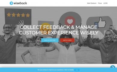 wiseback.com screenshot