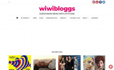 wiwibloggs.com screenshot