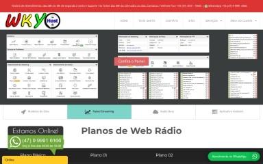 wkyhost.com.br screenshot