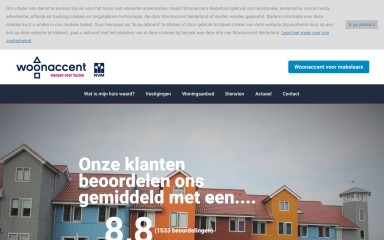 woonaccent.nl screenshot