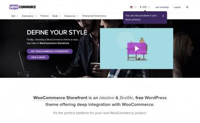 https://woocommerce.com/storefront/ screenshot
