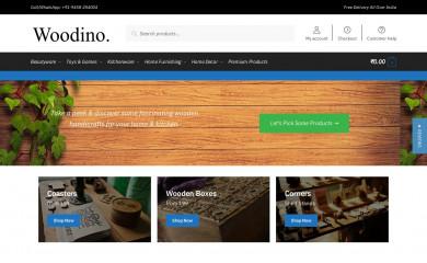 http://woodino.com screenshot