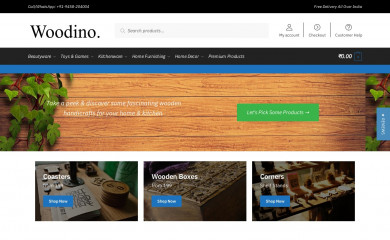 woodino.com screenshot
