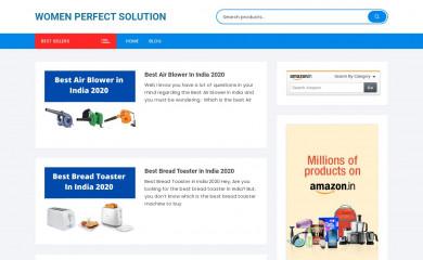 womenperfectsolution.com screenshot