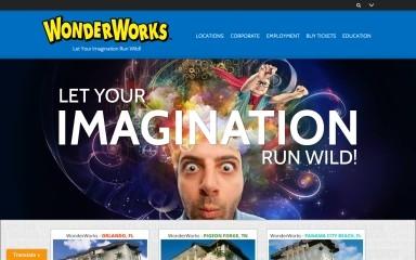 wonderworksonline.com screenshot