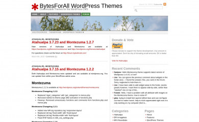 http://wordpress.bytesforall.com/ screenshot