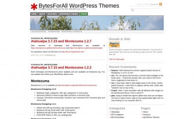 http://wordpress.bytesforall.com/ screenshot