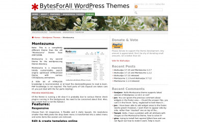 http://wordpress.bytesforall.com/wordpress-themes/montezuma/ screenshot