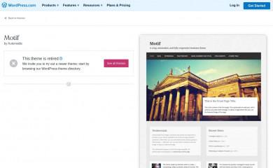 https://wordpress.com/themes/motif/ screenshot