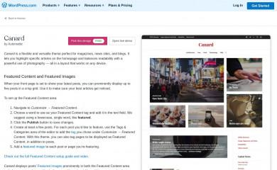 https://wordpress.com/themes/canard/ screenshot