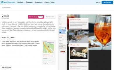 Confit screenshot