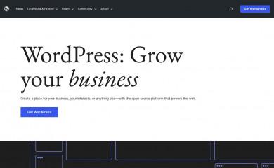 http://wordpress.org/ screenshot