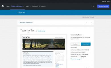 http://wordpress.org/extend/themes/twentyten screenshot