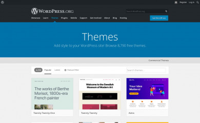 https://wordpress.org/themes/ screenshot