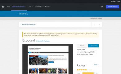 https://wordpress.org/themes/expound/ screenshot
