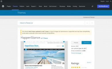 https://wordpress.org/themes/happenstance screenshot
