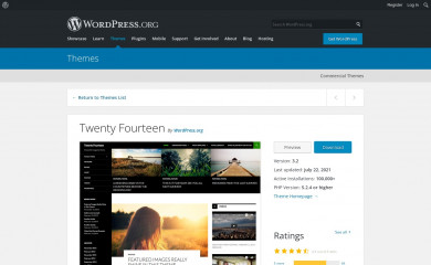 http://wordpress.org/themes/twentyfourteen screenshot