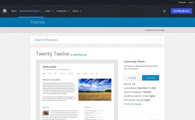https://wordpress.org/themes/twentytwelve/ screenshot
