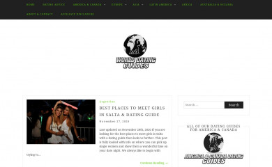 worlddatingguides.com screenshot