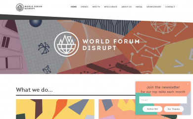 http://worldforumdisrupt.com screenshot