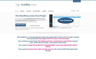 wp-autoblog.net screenshot