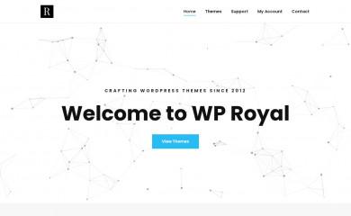 wp-royal.com screenshot