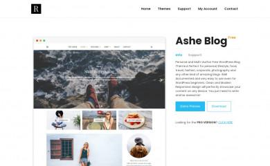 https://wp-royal.com/themes/item-ashe-free/ screenshot