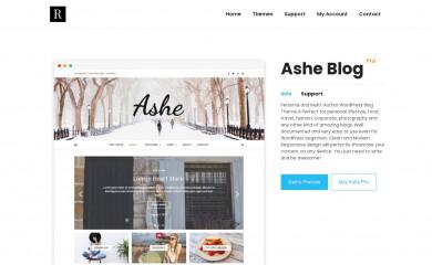 https://wp-royal.com/themes/item-ashe-pro/ screenshot