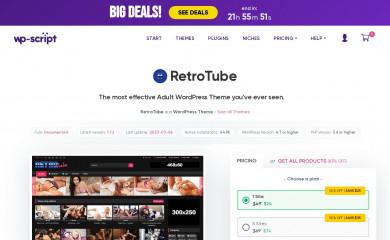 http://www.wp-script.com/adult-wordpress-themes/retrotube/ screenshot