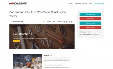 https://wpcharms.com/item/construction-kit/ screenshot