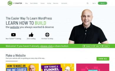 wpcrafter.com screenshot