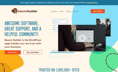 http://www.wpbeaverbuilder.com screenshot