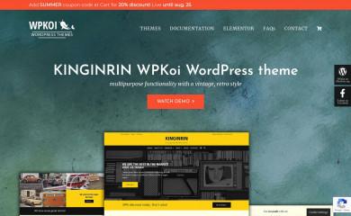 https://wpkoi.com/kinginrin-wpkoi-wordpress-theme/ screenshot