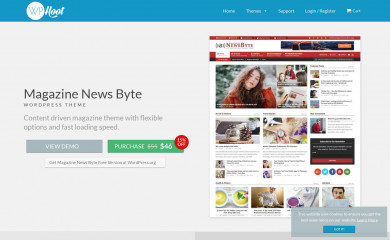 https://wphoot.com/themes/magazine-news-byte/ screenshot