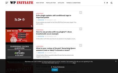 wpinitiate.com screenshot