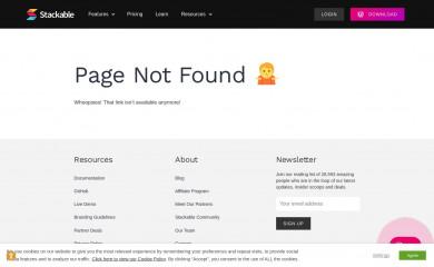 https://wpstackable.com/theme screenshot