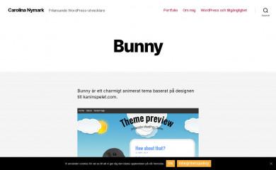 Bunny screenshot