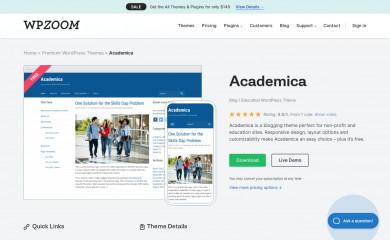 http://www.wpzoom.com/themes/academica screenshot
