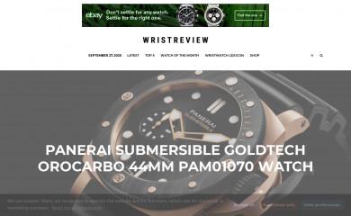 wristreview.com screenshot