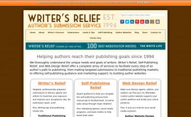 writersrelief.com screenshot