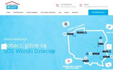 wspieramyrodzinysos.org screenshot