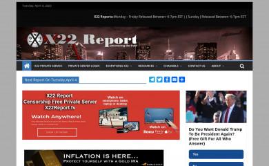 x22report.com screenshot