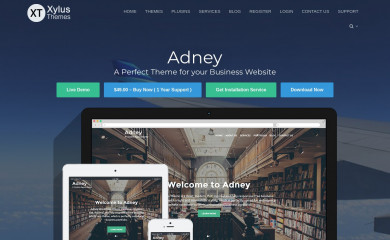 http://xylusthemes.com/themes/adney screenshot