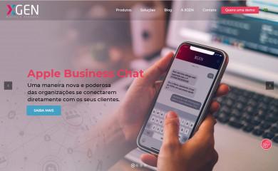 xgen.com.br screenshot