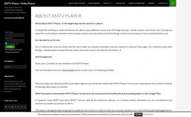 xmtvplayer.com screenshot