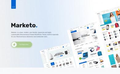http://xpeedstudio.com/wp/marketo/ screenshot
