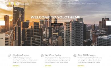http://yolotheme.com screenshot