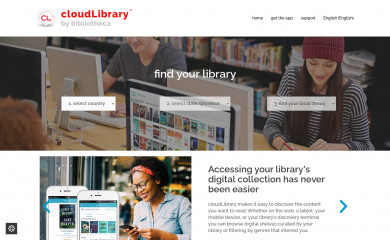 yourcloudlibrary.com screenshot